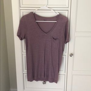 Madewell Pocket V neck - great shape!! No stains!